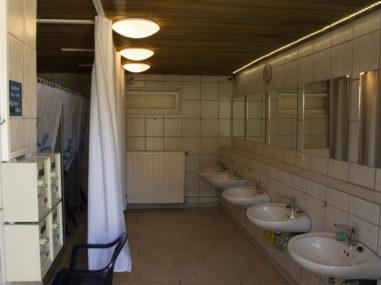 Sanitäranlagen Campingplatz Waischenfeld