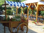 Biergarten Campingplatz Waischenfeld