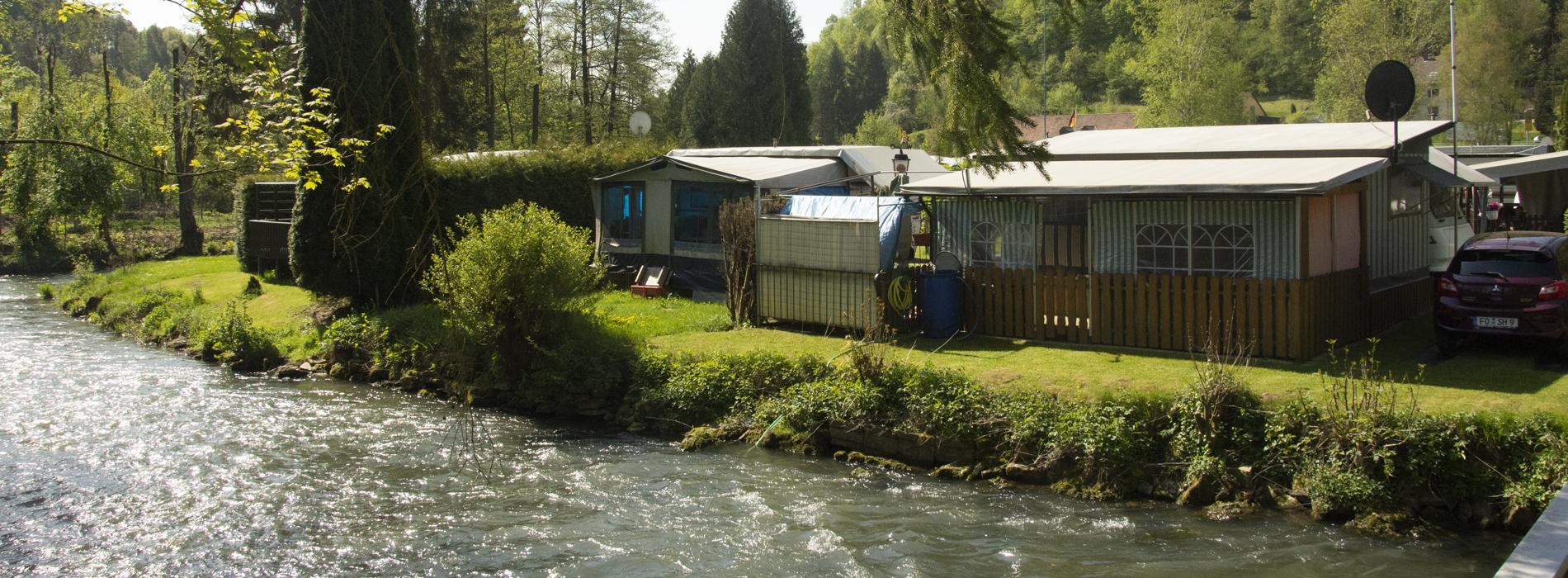 Campingplatz Waischenfeld -Direkt an der Wisent