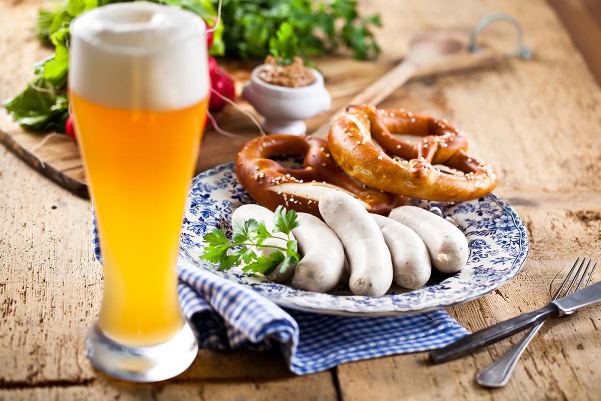 Weißwurstfrühstück am Campingplatz Waischenfeld