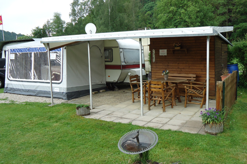 Wilk550 am Campingplatz Waischenfeld